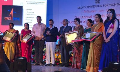 Delhi Commission For Women Honored 30 Unsung Heroes